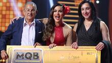El papá de Clarissa Molina se 'olió' el triunfo de su hija en Mira Quién Baila All Stars