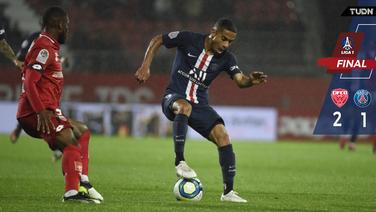 Dijon con la sorpresa de la jornada sobre el PSG