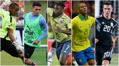 Además de las figuras, estos son los 15 jugadores a seguir en la Copa América