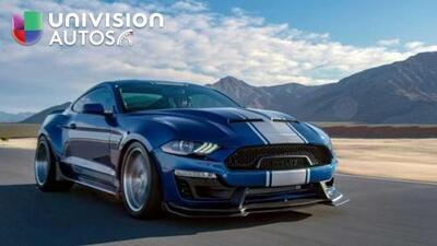 Mira en acción al Shelby Mustang Super Snake 2018-2019