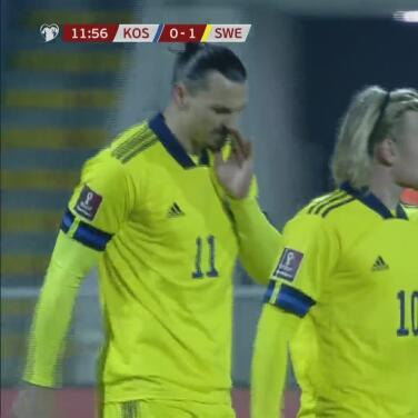 ¡'Taquito' de lujo! Ibrahimovic pone medio gol a Augustinsson
