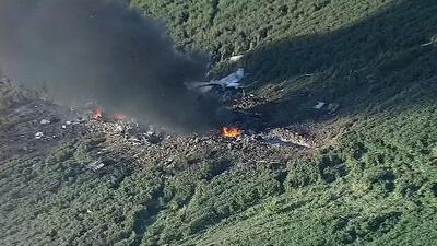 Al menos 5 muertos al estrellarse un avión militar en Mississippi