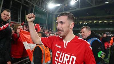 Dinamarca logra su pase a la Euro e Irlanda se va a repesca