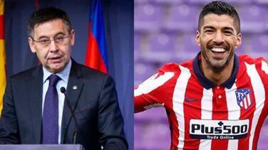 Luis Suárez se burla del expresidente del Barcelona
