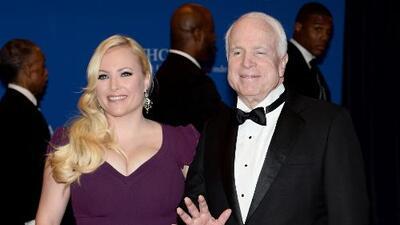 """""""Tendrán que responder a su propia conciencia"""", la hija de McCain sobre la burla de la Casa Blanca al cáncer que su padre padece"""