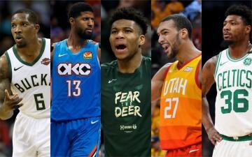 Estos son los nominados al Equipo Defensivo ideal de la NBA de 2018-19