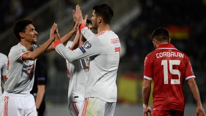 Malta 0-2 España - GOLES Y RESUMEN - GRUPO F - ELIMINATORIAS – Eurocopa