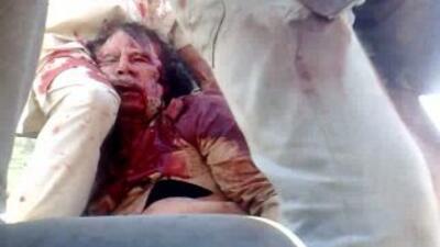 Muerte de Gadafi desató reacciones en todo el mundo