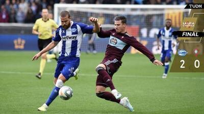 Sin Araujo, Celta de Vigo cae ante el Alavés y se hunde en LaLiga