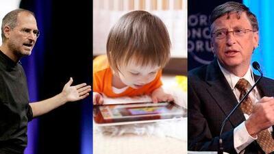 Bill Gates y Steve Jobs no permitían que sus hijos tuvieran acceso a celulares y tabletas