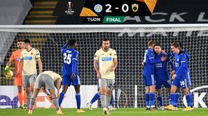 Leicester City ganó y se adueño de su grupo en la Europa League