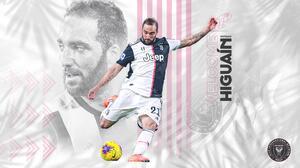 Es oficial: Gonzalo Higuaín es nuevo jugador de Inter Miami CF