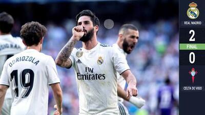 Te eché mucho de menos: Real Madrid gana y el Bernabéu se rinde a su míster Zidane