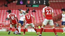 Golazo de 'rabona' de Lamela no alcanza para la victoria vs Arsenal
