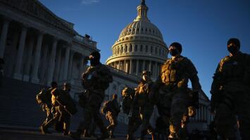 Washington DC totalmente blindada: Agentes del FBI, Servicio Secreto y 25,000 miembros de la Guardia Nacional