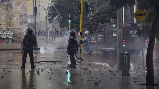 Críticas a Duque y tensión con la policía: así se vive el octavo día de protestas en Colombia