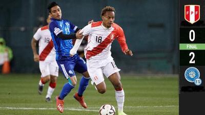 Sorpresiva victoria de El Salvador sobre Perú