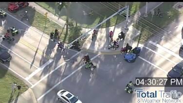Advierten la presencia de motociclistas manejando imprudentemente en Miami