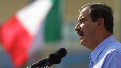 Vicente Fox reitera que México no pagará su muro fronterizo propuesto por Donald Trump