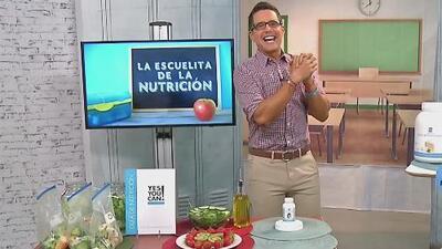 En este regreso a clases, Alejandro Chabán te dice cómo cuidar tu salud en 'La escuelita de la nutrición'