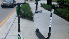 ¿Se está controlando el uso de las patinetas eléctricas en la ciudad de Miami?