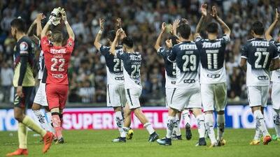 Resultados de las últimas cinco visitas de América a Monterrey por Liga MX