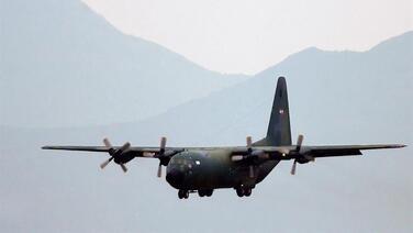 Hallan posibles restos del avión de la Fuerza Aérea de Chile siniestrado