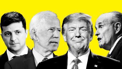 """Un escándalo """"único y sin precedentes"""": los protagonistas de la polémica llamada que podría llevar a juicio político a Donald Trump (fotos)"""