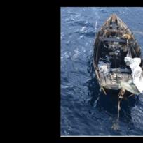 Detienen a seis cubanos en un bote de madera cerca de la costa en Boca Ratón