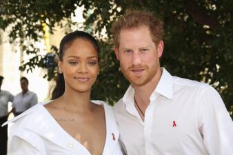 Cuando el príncipe Harry conoció a Rihanna