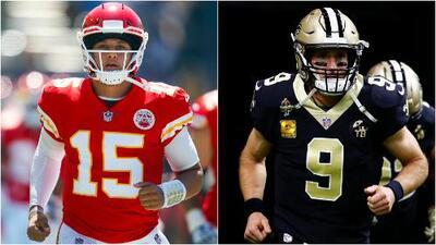 NFL revela los rosters del Pro Bowl 2019 liderados por Mahomes (AFC) y Brees (NFC)