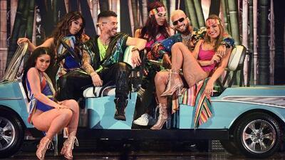 """""""Mira todas estas mamacitas"""": Reykon y Maluma llegaron a Miami en busca de una 'Latina'"""