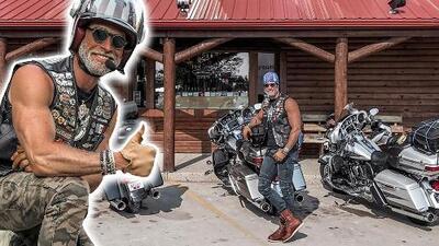 Sebastián Rulli y los 'Leyenda' acumulan millas en sus motocicletas