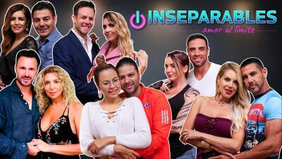 Estas son las 12 parejas 'Inseparables' que pondrán su amor al límite por UniMás