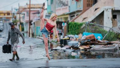 Fotos: bailando por Puerto Rico después del huracán