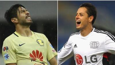 Javier 'Chicharito' Hernández trollea a Oribe Peralta y la goleada al América en Twiter