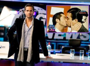 José Ron recordó el beso que se dio con Jaime Camil que fue censurado