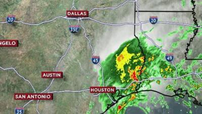 ¿Continuarán las lluvias en el centro de Texas?