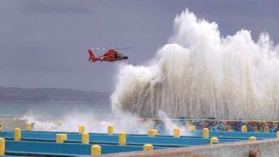 Marejadas más altas que las del huracán María provocan destrozos en Puerto Rico