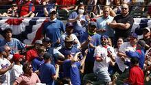 Así lucieron las gradas del Globe Field en la MLB pese a COVID-19