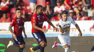 Cómo ver Pumas vs. Veracruz vivo, por la Liga MX 6 enero 2019