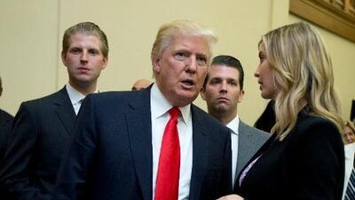 Trump demanda al Deutsche Bank y a Capital One para impedir que den información de sus negocios al Congreso