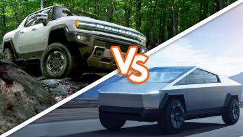 Tesla Cybertruck vs. GMC Hummer EV: así se comparan las dos super pickups eléctricas