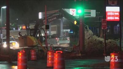 Reportan nueva ruptura de línea de gas al noroeste de Dallas