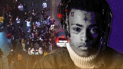 Lo que iba a ser un homenaje al asesinado XXXTentacion se convirtió en un caos (con policía antimotín incluida)