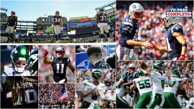 New England Patriots se imponen ante los New York Jets