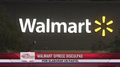 Walmart pide disculpas por elaborar un pastel