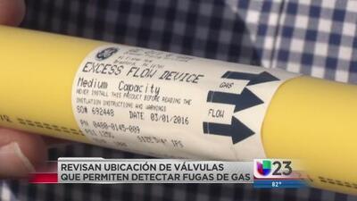 Revisan instalación de válvulas detectoras de gas de Atmos tras una demanda