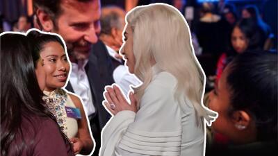 Yalitza Aparicio tiene de fans a nada menos que Lady Gaga y Bradley Cooper y estas fotos lo demuestran
