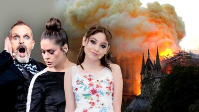 """Galilea Montijo y los jueces de Pequeños Gigantes están """"devastados"""" por el incendio en Notre Dame"""